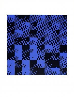 Lukket springer vandring som magisk kvadrat