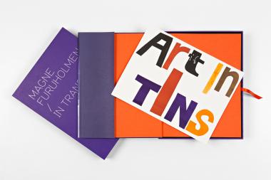 """In transit / """"art in tins"""""""